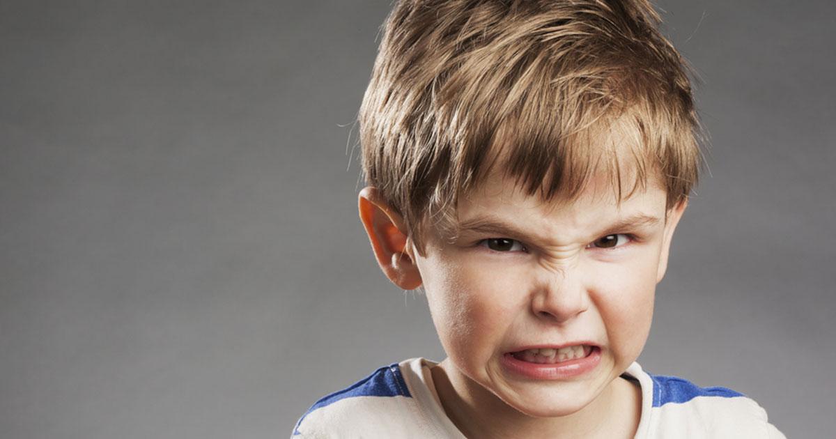 ¿Por qué se enojan los niños?