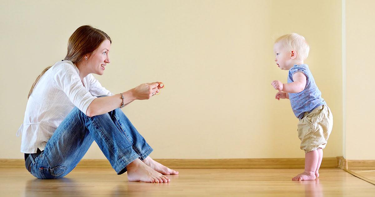 Consejos para los primeros pasos de tu bebé