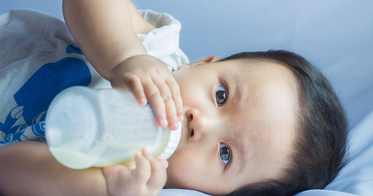 ¡Ayuda! Mi bebé es alérgico a la leche