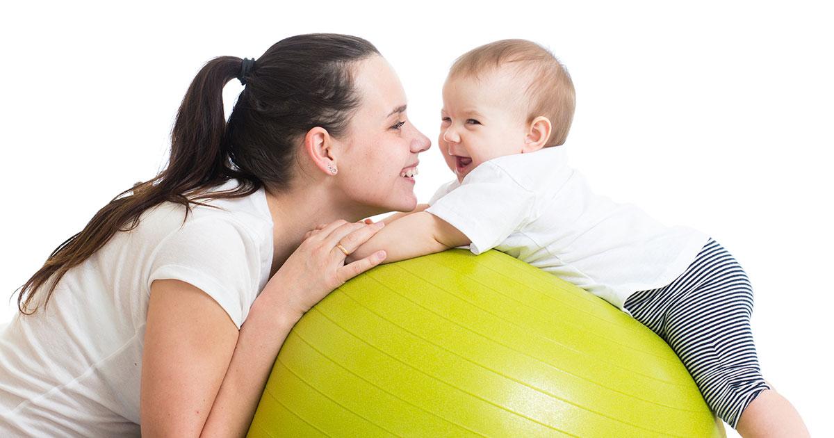 Los bebés deben hacer ejercicio