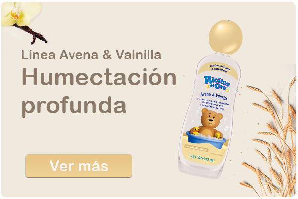 Ricitos de Oro Línea Avena & vainilla