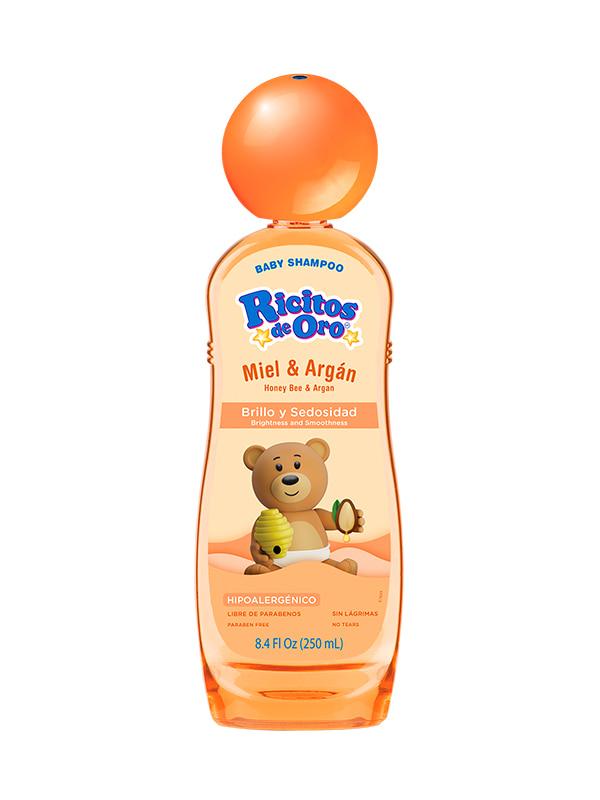 Shampoo Miel y Argán Ricitos de Oro®