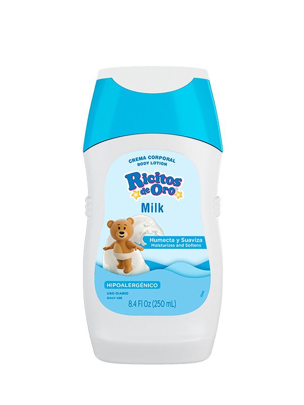 Crema Corporal Milk Ricitos de Oro®