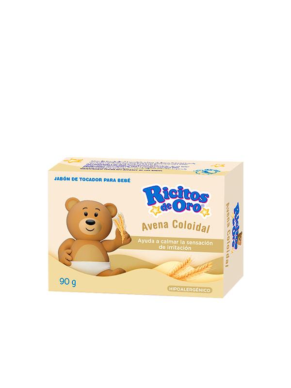 Jabón Avena Coloidal Ricitos de Oro®