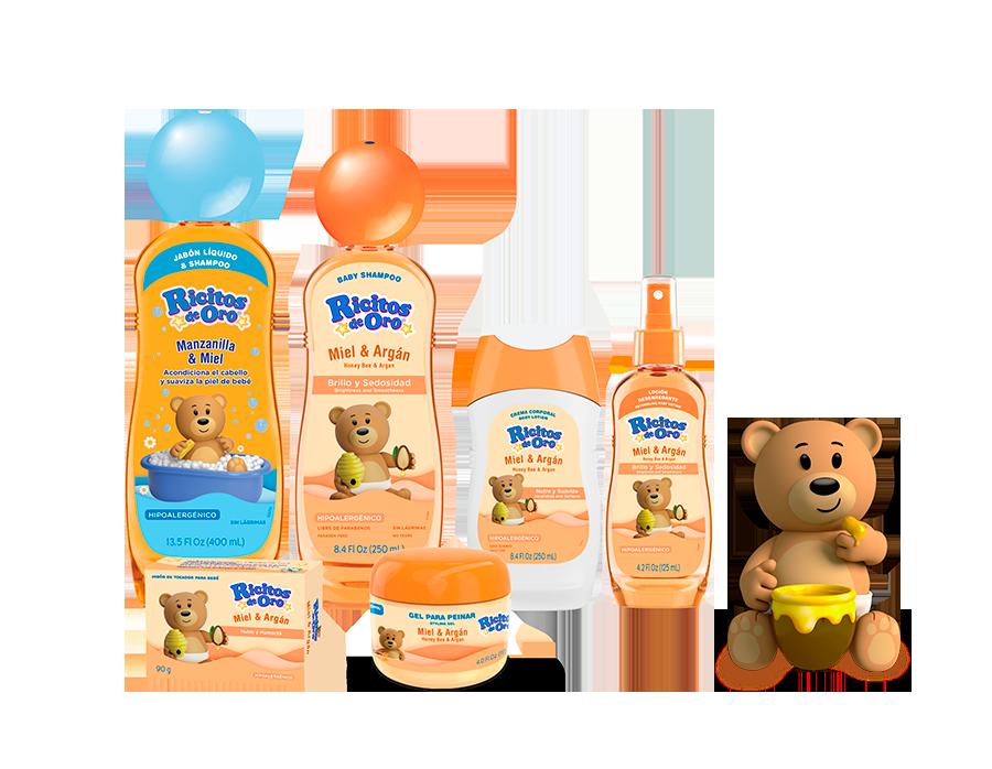 Familia de productos Ricitos de Oro Manzanilla